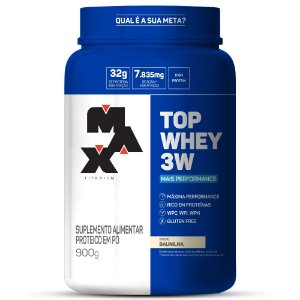 Top Whey 3W Mais Performance 900g
