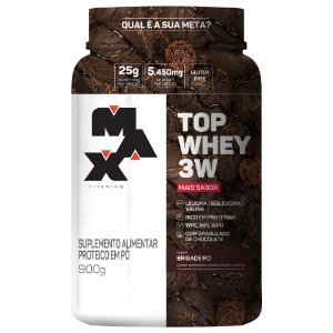 Top Whey 3W Mais Sabor 900g