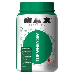 Top Whey 3W Mais Natural 900G