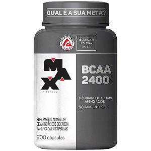 BCAA 2400 pote com 200 capsulas