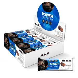POWER PROTEIN BAR  8 UN DE 90G - DARK CHOCOLATE TRUFFLE