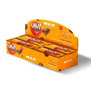 UAU PROTEIN BAR 12UN 45G CHOCOLATE CROCANTE