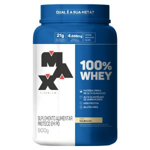 100% WHEY Pote 900g