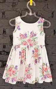 Vestido floral - Poim 12-18 meses