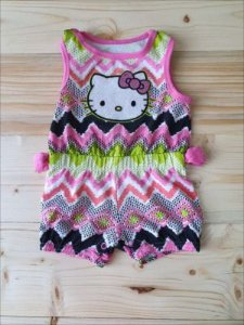 Romper estampado Hello Kitty 3-6 meses