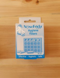 Filtro higiênico (refil) 20 peças - Nosefrida