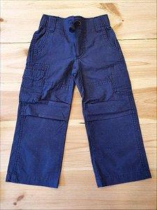Calça sarja azul marinho - Carter's 2 anos