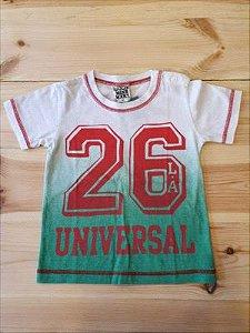 Camiseta manga curta estampada - Gold Mine Mart 2-3 anos