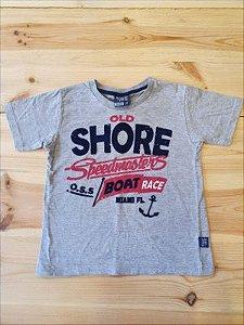 Camiseta manga curta - Brincar é Arte 3 anos