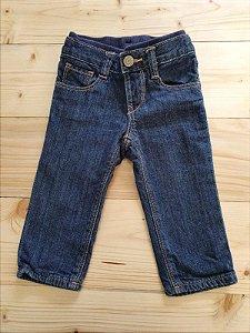 Calça jeans forrada - GAP 6 meses