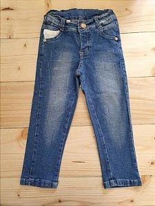 Calça jeans skinny - Zig Mundi 12-18 meses