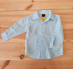 Camisa manga longa - Nautica 12 meses