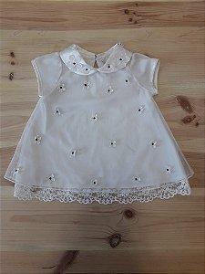 Vestido branco - Rare Editions 18 meses