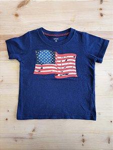 Camiseta manga curta - Carters 18 meses