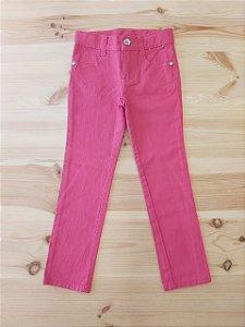 Calça jeans slim rosa - Gymboree 4 anos