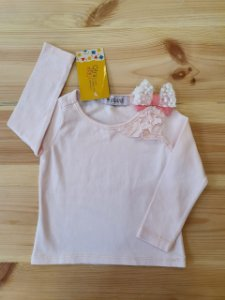 Camiseta manga longa - Infanti 6-9 meses