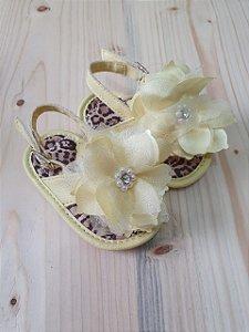 Sandália flor amarela - Pampili nº 14
