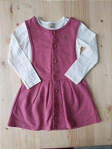 Conjunto vestido + Camiseta - Milon 4 anos