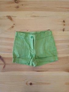 Shorts verde - JanieAndJack 18-24 meses