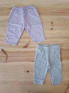 Kit 2 calças compridas - Carters/BebêCoala 3-6 meses