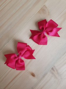 Kit 2 laços catavento pink