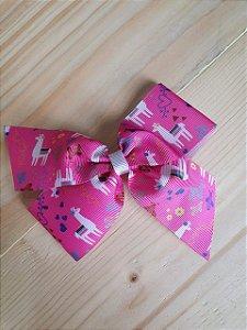 Laço rosa lhama