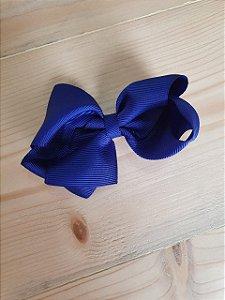 Laço duplo azul marinho