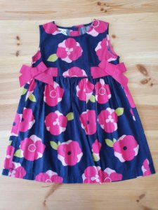 Vestido floral - Blueberi 4 anos