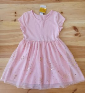 Vestido festa rosa - Gymboree 4 anos