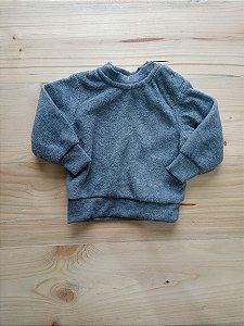 Casaco cinza flece - Teddy Boom 0-3 meses