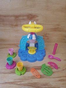 Brinquedo interativo sorveteria divertida - Play Doh