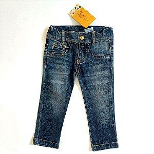 Calça jeans skinny - PaolaBimbi 6 meses