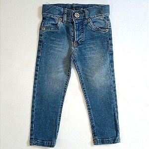 Calça jeans skinny - Club Z 12-18 meses