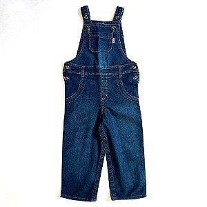 Jardineira jeans - Hering 3 anos