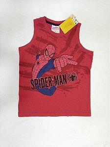 Camiseta regata Homem Aranha - Marvel 5-6 anos