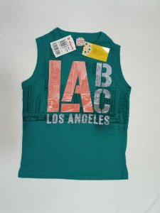NOVO Camiseta regata verde - Brandili 6 anos