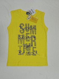 NOVO Camiseta regata - Brandili 5-6 anos