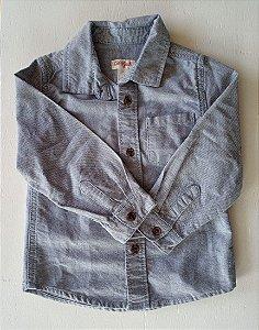 Camisa manga longa jeans - Cat&Jack 3 anos
