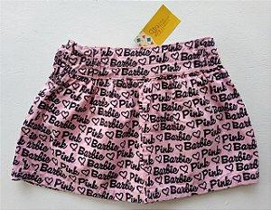 Saia rosa - Barbie 4-5 anos