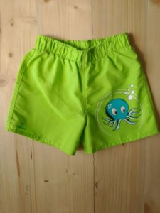 Shorts piscina verde - Tribord 3 anos