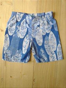 Shorts tactel estampado - Boulevard Baby 2 anos