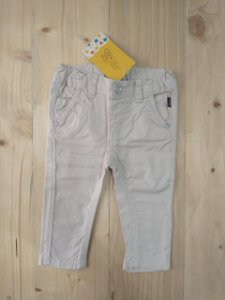 Calça jeans bege - Chicco 6 meses