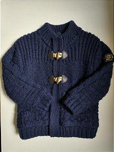 Casaco lã forrado - Zara 2-3 anos
