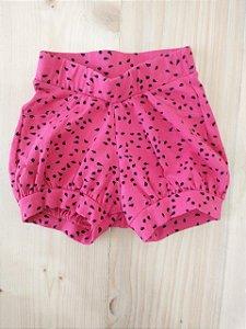 Shorts melancia - Teddy Boom 3-6 meses