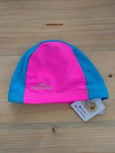 Touca natação rosa e azul - Nabaji 9-12 meses