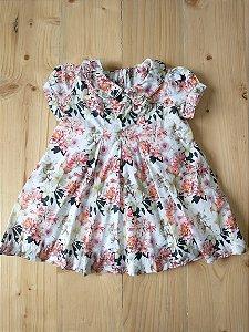 Vestido floral + calcinha - Paola Bimbi 9 meses