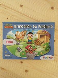 Livro 3D - Brincando de Folclore: Saci - Maurício de Sousa