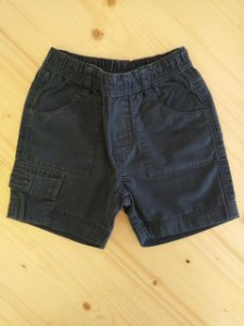 Shorts azul marinho - Kyly 12 meses