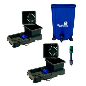 Kit Hidroponia Autopot 2 Easy2grow 8,5L, flexi tank 50L e filtro adaptador