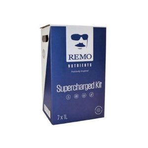 Kit Completo Supercharged 7x1 Litro - Remo Nutrients  Ph Perfeito